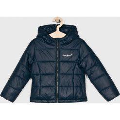Pepe Jeans - Kurtka dziecięca Candita 122-180 cm. Szare kurtki i płaszcze dla dziewczynek Pepe Jeans, z jeansu. W wyprzedaży za 259.90 zł.