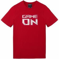 Koszulka ASUS ROG GAME ON RED rozmiar XL. Czerwone t-shirty i topy dla dziewczynek Asus, z bawełny. Za 149.90 zł.