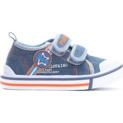 Niebieskie Trampki Star Boy. Niebieskie buty sportowe chłopięce Born2be, z materiału. Za 39.99 zł.