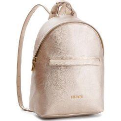 Plecak LIU JO - Backpack Barona A68139 E0059 Gold 00529. Żółte plecaki damskie Liu Jo, ze skóry ekologicznej, eleganckie. Za 599.00 zł.