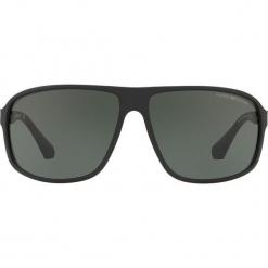 Emporio Armani - Okulary 0EA4029. Brązowe okulary przeciwsłoneczne męskie Emporio Armani, z materiału. Za 519.90 zł.