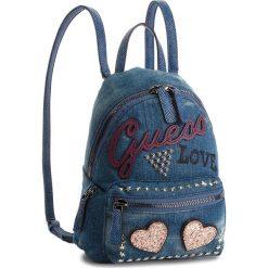 Plecak GUESS - HWED71 09310 DEN. Niebieskie plecaki damskie Guess, z materiału. Za 559.00 zł.