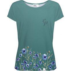 Colour Pleasure Koszulka damska CP-034 251 zielona r. XL/XXL. T-shirty damskie Colour Pleasure. Za 70.35 zł.