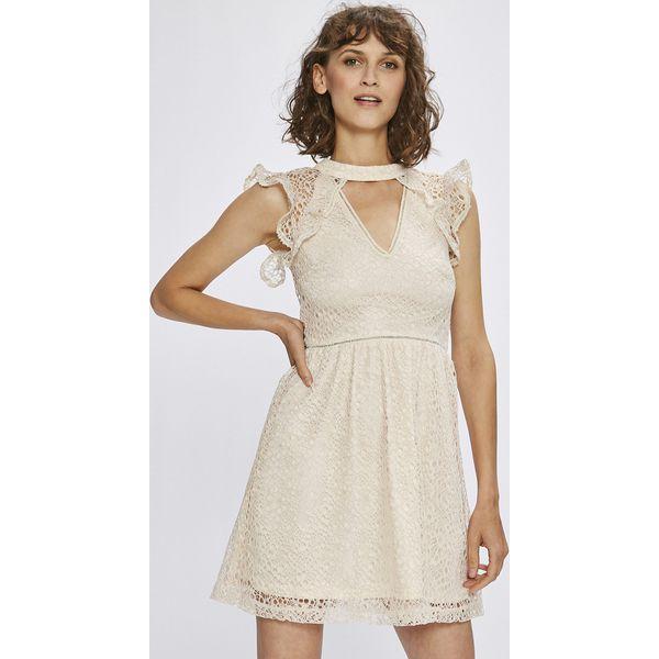 74a20ad190a126 Answear - Sukienka - Szare sukienki damskie marki ANSWEAR, z ...