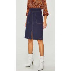Answear - Spódnica. Szare spódnice damskie ANSWEAR, z elastanu. W wyprzedaży za 119.90 zł.
