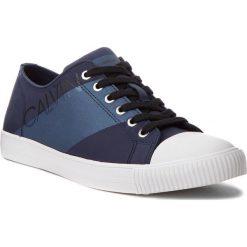 Trampki CALVIN KLEIN JEANS - Antonio SE8590 Navy/Metal Blue. Niebieskie trampki męskie Calvin Klein Jeans, z gumy. Za 519.00 zł.