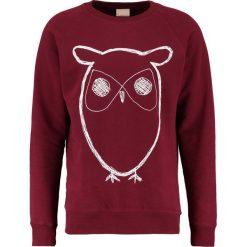 Knowledge Cotton Apparel BIG OWL Bluza tawny red. Kardigany męskie Knowledge Cotton Apparel, z bawełny. W wyprzedaży za 359.10 zł.