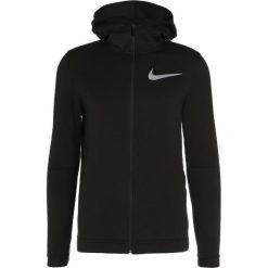 Nike Performance DRY SHOWTIME HOODIE Bluza rozpinana black/black/black/white. Bluzy męskie Nike Performance, z bawełny. Za 349.00 zł.