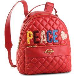 Plecak LOVE MOSCHINO - JC4227PP06KC0500 Rosso. Czerwone plecaki damskie Love Moschino, ze skóry ekologicznej. Za 929.00 zł.