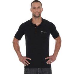 Brubeck Koszulka męska polo Prestige z krótkim rękawem czarna r. L (SS10920). Koszulki polo męskie Brubeck, z krótkim rękawem. Za 105.55 zł.
