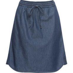 Spódniczka dżinsowa bonprix niebieski. Niebieskie spódnice damskie bonprix. Za 74.99 zł.