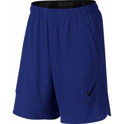 """Nike Spodenki Treningowe Flex 8"""" 742242 455 L. Niebieskie krótkie spodenki sportowe męskie Nike, z tkaniny. W wyprzedaży za 139.00 zł."""
