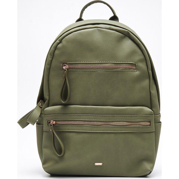 bf62bb49a953e Plecak z eko skóry - Zielony - Plecaki damskie marki Cropp