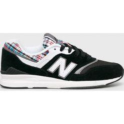 New Balance - Buty WL697TRA. Szare obuwie sportowe damskie New Balance, z gumy. W wyprzedaży za 379.90 zł.
