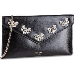 Torebka GUESS - HWVG71 11280  BLA. Czarne torebki do ręki damskie Guess, z aplikacjami, ze skóry ekologicznej. W wyprzedaży za 309.00 zł.