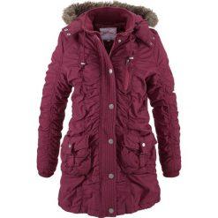 Płaszcz zimowy bonprix jeżynowy. Płaszcze damskie marki FOUGANZA. Za 169.99 zł.