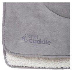 Cuddleco Koc Dwustronny Comfi-Cuddle 140 X 100 Cm Pebble. Szare kocyki dla dzieci Cuddleco, z zamszu. Za 139.00 zł.