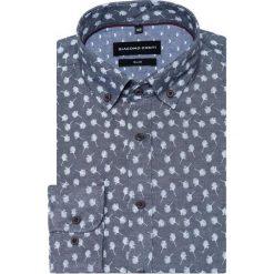 Koszula SIMONE KDWS000328. Szare koszule męskie Giacomo Conti, button down, z długim rękawem. Za 149.00 zł.