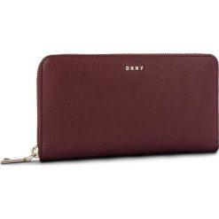 Duży Portfel Damski DKNY - Lg Zip Around R831A658 Blood Red XOD. Portfele damskie marki DKNY. W wyprzedaży za 449.00 zł.