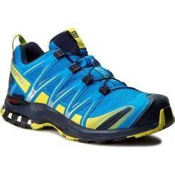 Buty SALOMON - Xa Pro 3D Gtx GORE-TEX 393321 28 V0 Cloisonne/Navy Blazer/Sulphur Spring. Niebieskie buty sportowe męskie Salomon, z gore-texu. W wyprzedaży za 469.00 zł.