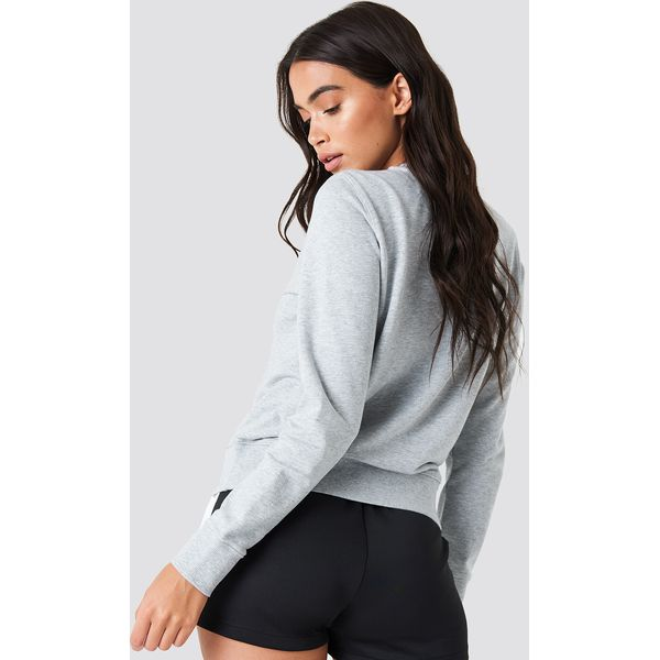 6d1b484bdbb9c Calvin Klein Bluza Institutional Logo - Grey - Bluzy damskie marki ...