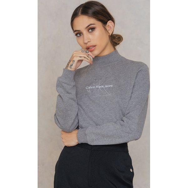 165b8c032 Calvin Klein Bluza z długim rękawem Hazel True Icon - Grey - Bluzy damskie Calvin  Klein. Za 404.95 zł. - Bluzy damskie - Bluzy i swetry damskie - Odzież ...