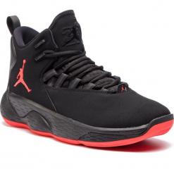 Buty NIKE - Jordan Super.Fly Mvp AR0037 060 Black/Infrared 23. Czarne buty sportowe męskie Nike, z materiału. Za 589.00 zł.