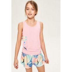 Koszulka be active - Różowy. T-shirty i topy dla dziewczynek marki bonprix. W wyprzedaży za 14.99 zł.