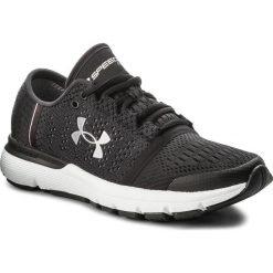 Buty UNDER ARMOUR - Ua W Speedform Gemini Vent 3020663-002 Blk/Noir. Czarne obuwie sportowe damskie Under Armour, z gumy. W wyprzedaży za 339.00 zł.