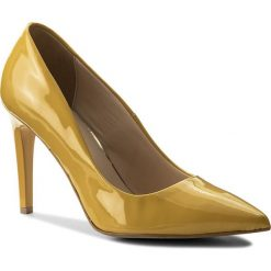 Szpilki SERGIO BARDI - Caselette SS127341918SG 352. Żółte szpilki damskie Sergio Bardi, z lakierowanej skóry. W wyprzedaży za 199.00 zł.