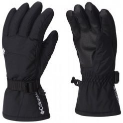 Columbia Rękawiczki Youth Whirlibird Glove Black S. Czarne rękawiczki dziecięce Columbia, z syntetyku. W wyprzedaży za 85.00 zł.