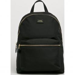 Lauren Ralph Lauren - Plecak. Czarne plecaki damskie Lauren Ralph Lauren, z materiału. Za 699.90 zł.