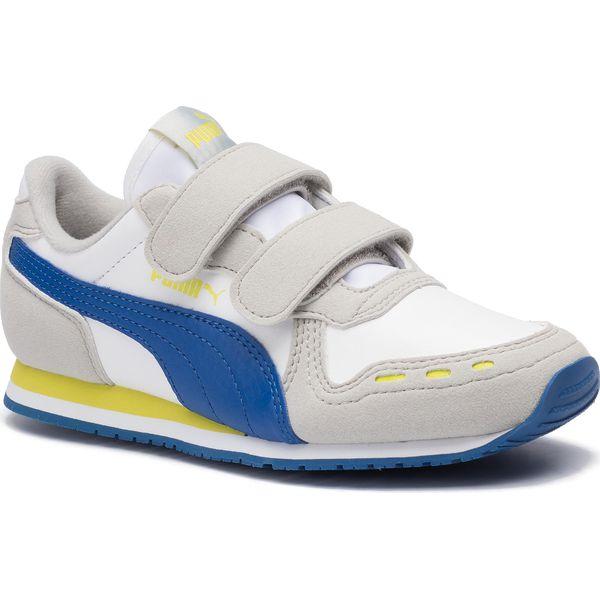 Sneakersy PUMA Cabana Racer SL V PS 360732 77 Puma WhiteGalaxy Blue