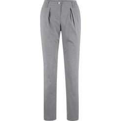 Spodnie chino ocieplane bonprix szary. Szare spodnie materiałowe damskie bonprix. Za 159.99 zł.