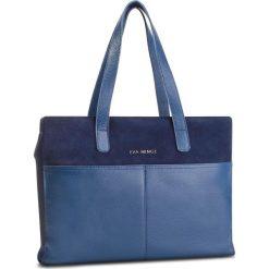 Torebka EVA MINGE - Olvera 4N 18NN1372666EF 607. Niebieskie torby na ramię damskie Eva Minge. W wyprzedaży za 429.00 zł.