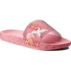 Klapki ZAXY - Snap Trendy Slide Fem 17529 Pink 90063 AA285106 02064. Czerwone klapki damskie Zaxy, z materiału. W wyprzedaży za 149.00 zł.