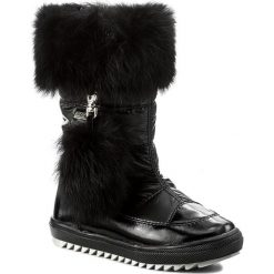 Śniegowce BARTEK - 24459/92G Czarny. Śniegowce dziewczęce Bartek, z lakierowanej skóry. W wyprzedaży za 219.00 zł.