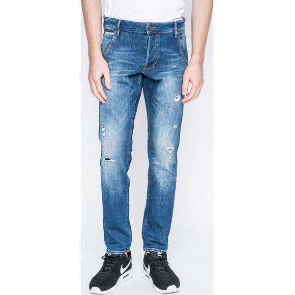 66d280d90bae0 Guess Jeans - Jeansy Cliff - Jeansy męskie marki Guess Jeans. W wyprzedaży  za 379.90 zł. - Jeansy męskie - Spodnie męskie - Odzież męska - Dla  mężczyzn ...