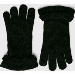 Pieces - Rękawiczki. Czarne rękawiczki damskie Pieces. W wyprzedaży za 39.90 zł.