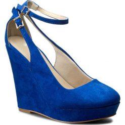 Półbuty JENNY FAIRY - W16SS382 Niebieski. Niebieskie półbuty damskie Jenny Fairy, z materiału. Za 119.99 zł.