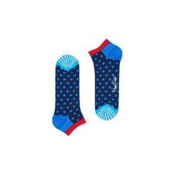 Skarpetki LOW Happy Socks DOT05-6000. Niebieskie skarpety męskie Happy Socks. Za 19.53 zł.