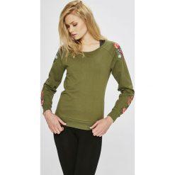 Only Play - Bluza Blossom. Brązowe bluzy damskie Only Play, z aplikacjami, z bawełny. W wyprzedaży za 99.90 zł.