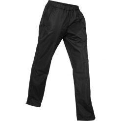 Spodnie funkcyjne ocieplane, na podszewce, długie bonprix czarny. Czarne spodnie materiałowe damskie bonprix. Za 129.99 zł.