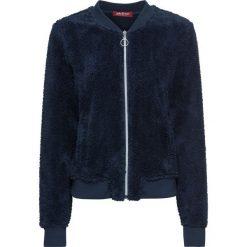 """Bluza z polaru """"baranek"""" bonprix ciemnoniebieski. Bluzy damskie marki KALENJI. Za 59.99 zł."""