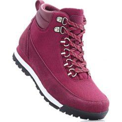 Buty trekkingowe bonprix bordowy. Czerwone buty sportowe męskie bonprix. Za 149.99 zł.