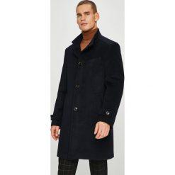 Pierre Cardin - Płaszcz. Czarne płaszcze męskie Pierre Cardin, z materiału. W wyprzedaży za 869.90 zł.