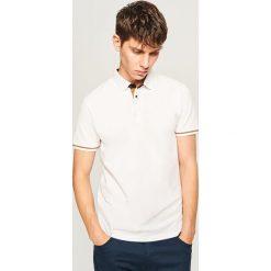 Koszulka polo - Biały. Białe koszulki polo męskie Reserved. Za 79.99 zł.