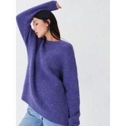 Sweter z wełną - Fioletowy. Fioletowe swetry damskie House, z wełny. Za 119.99 zł.