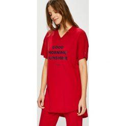 Tommy Hilfiger - Piżama. Szare piżamy damskie Tommy Hilfiger, z nadrukiem, z bawełny. Za 279.90 zł.