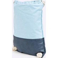 Vero Moda - Plecak. Pomarańczowe plecaki damskie Vero Moda, z bawełny. W wyprzedaży za 39.90 zł.